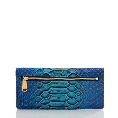 Ady Wallet Electric Blue Ateague Back