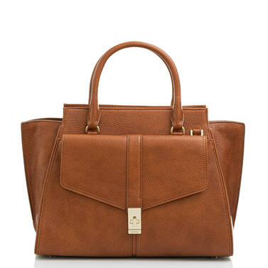 Priscilla Satchel Cognac Selva Video Thumbnail
