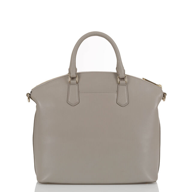 Large Duxbury Satchel Light Grey Briar Rose, Light Grey, hi-res