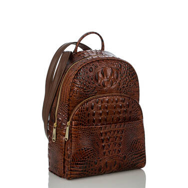 Dartmouth Backpack Pecan Melbourne Side