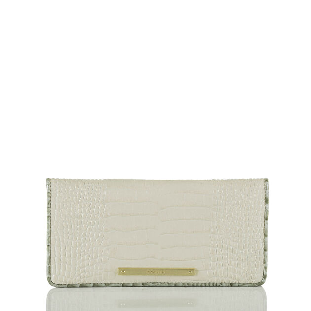 Ady Wallet Ivory Tri-Texture, Ivory, hi-res