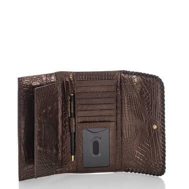 Soft Checkbook Wallet Patina Palermo Interior