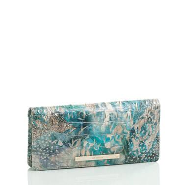 Ady Wallet Blue Lace Melbourne Side