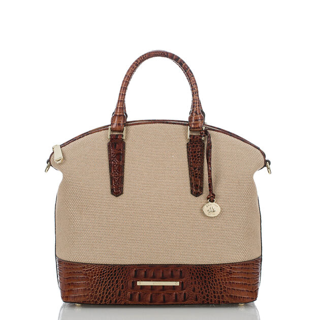 Large Duxbury Satchel Pecan Harbor, Pecan, hi-res