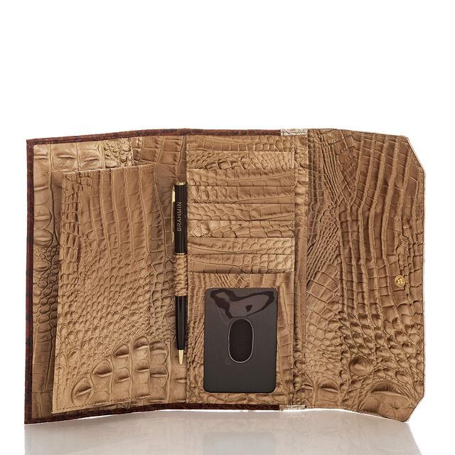 Soft Checkbook Wallet Honeycomb Leroy, Honeycomb, hi-res