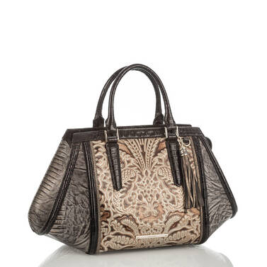 Arden Satchel Gold Bel Canto Side