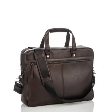 Andy Briefcase Brown Bedford Side