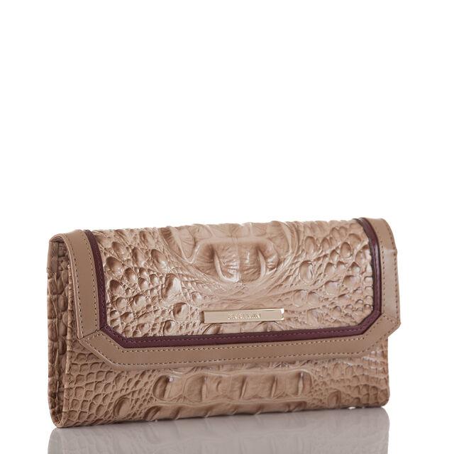 Soft Checkbook Wallet Travertine Cordina, Travertine, hi-res