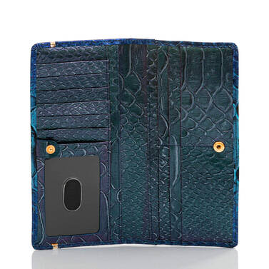 Ady Wallet Electric Blue Ateague Interior