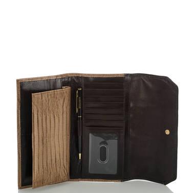 Soft Checkbook Wallet Satellite Palma Interior