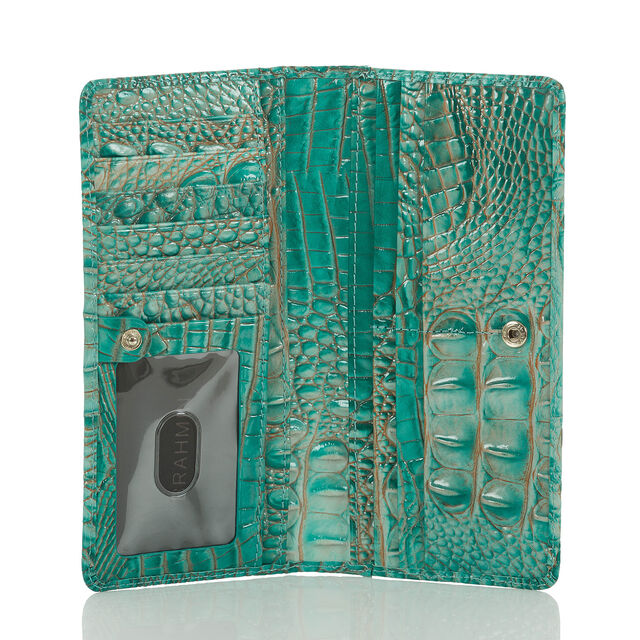 Ady Wallet Turquoise Melbourne, Turquoise, hi-res