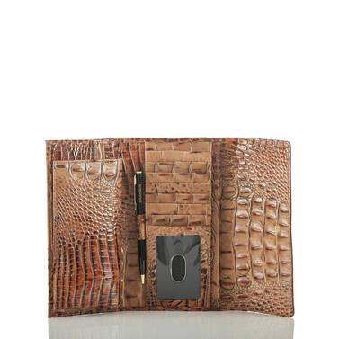 Soft Checkbook Wallet Brown Silva Interior