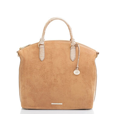 Large Duxbury Satchel Tan Rosario Video Thumbnail
