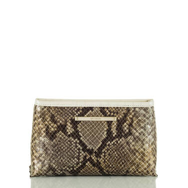 Marney Pouch Gold Sumatra Front