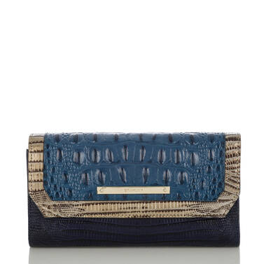 Soft Checkbook Wallet Palace Corbet Front