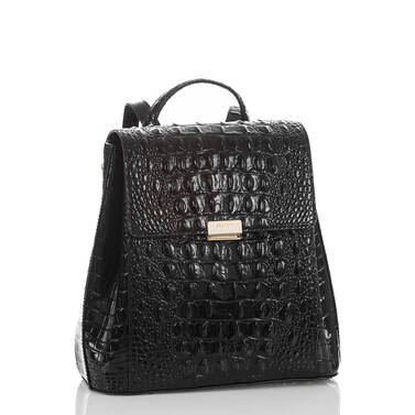 Margo Backpack Black Melbourne Side