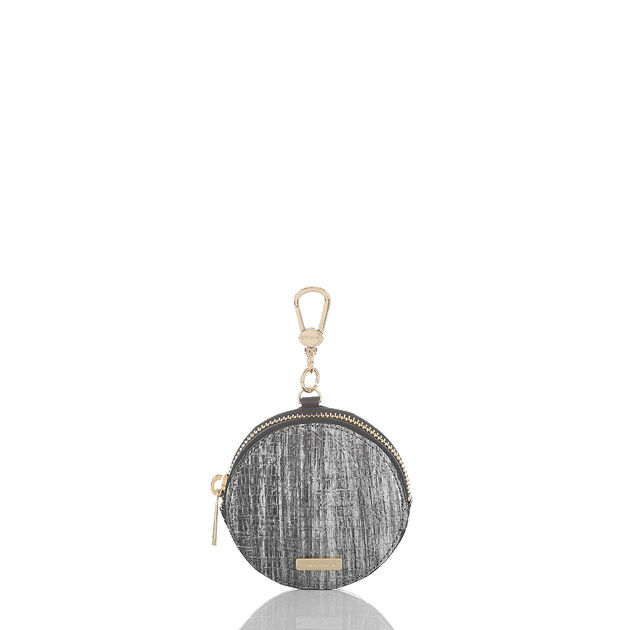 Circle Coin Purse Gunmetal Awakening, Gunmetal, hi-res