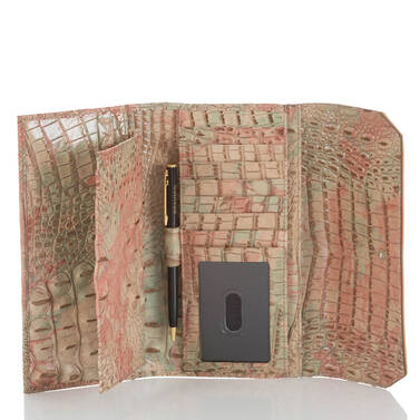 Soft Checkbook Wallet Sahara Amal Interior