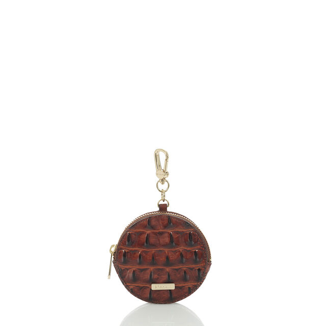 Circle Coin Purse Pecan Melbourne, Pecan, hi-res