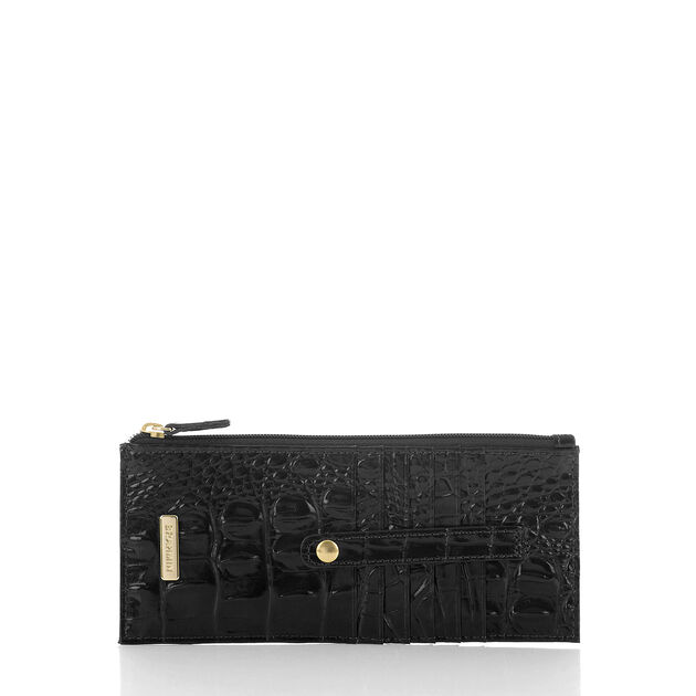 Credit Card Wallet Black Melbourne, Black, hi-res