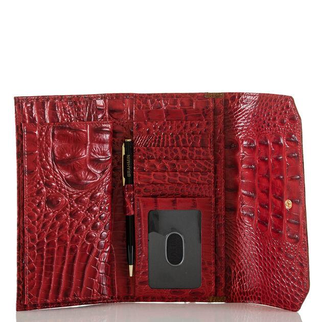 Soft Checkbook Wallet Chutney Vernon