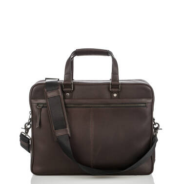 Andy Briefcase Brown Bedford Front