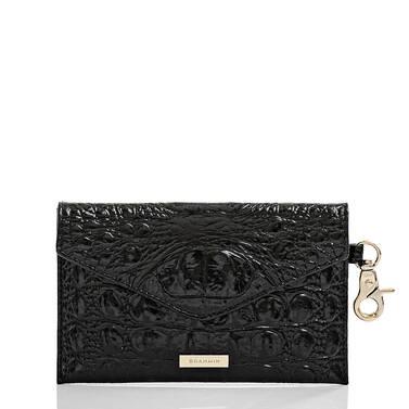 Mini Envelope Case Black Melbourne Front