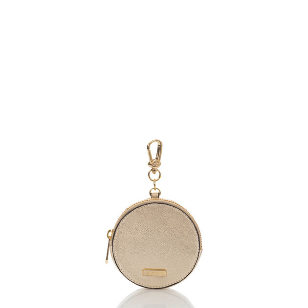 Circle Coin Purse Platinum Moonlit, Platinum, hi-res