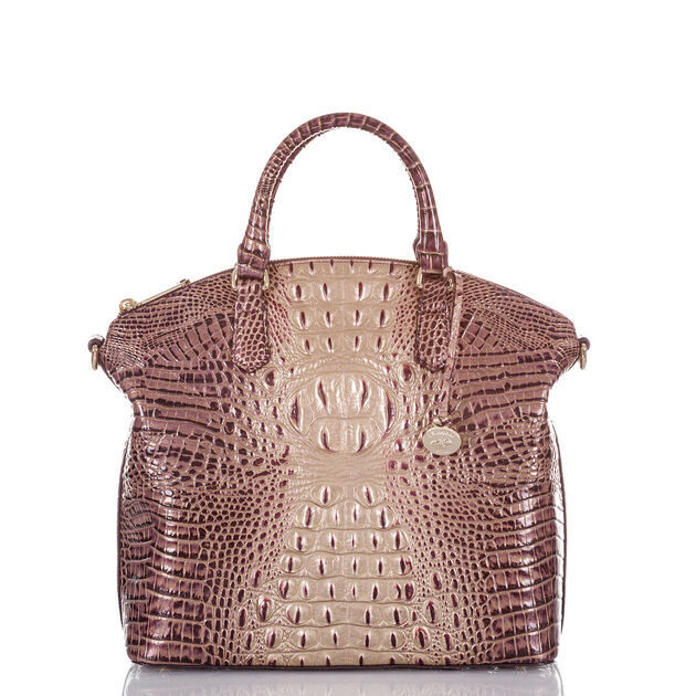 Large Duxbury Satchel Port Ombre Melbourne, Port, hi-res