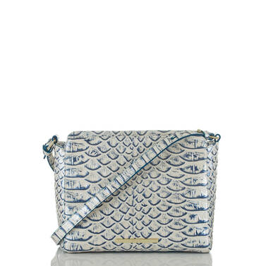 Carrie Crossbody Steel Pamilla Front