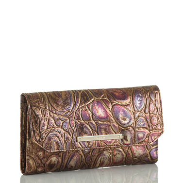 Soft Checkbook Wallet Multi Akita Front