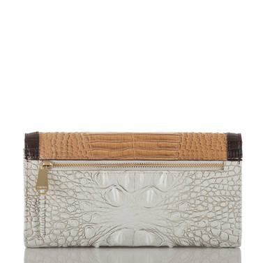 Soft Checkbook Wallet Coconut Kedima Back