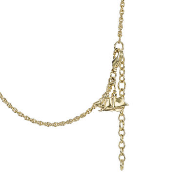 Fairhaven Duo Tassel Necklace Ivory Jewelry Front