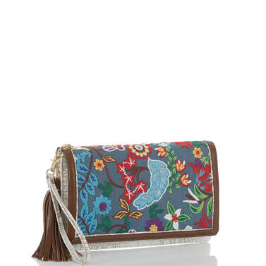 Lily Pouch Blue Temara Side
