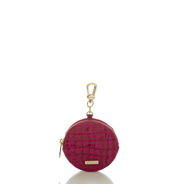 Circle Coin Purse Fuchsia La Scala