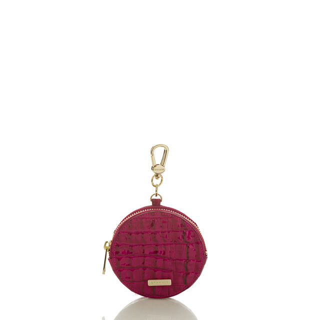 Circle Coin Purse Fuchsia La Scala, Fuchsia, hi-res