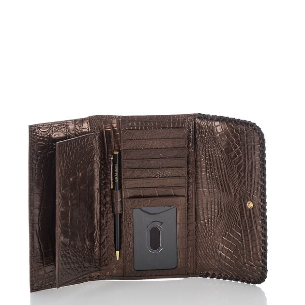 Soft Checkbook Wallet Patina Palermo