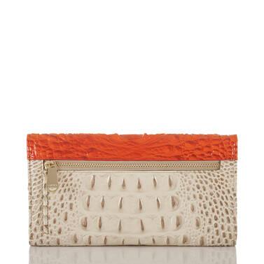 Soft Checkbook Wallet Vanilla Toucan Back