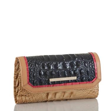 Soft Checkbook Wallet Ink Avondale Side