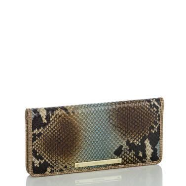 Ady Wallet Brown Cortes Side