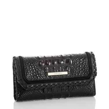 Soft Checkbook Wallet Black Wilde Side