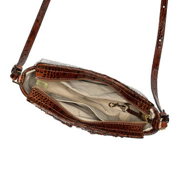 Carrie Crossbody Pecan Paseo Interior
