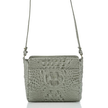 Carrie Crossbody Silver Sage Tarama Back