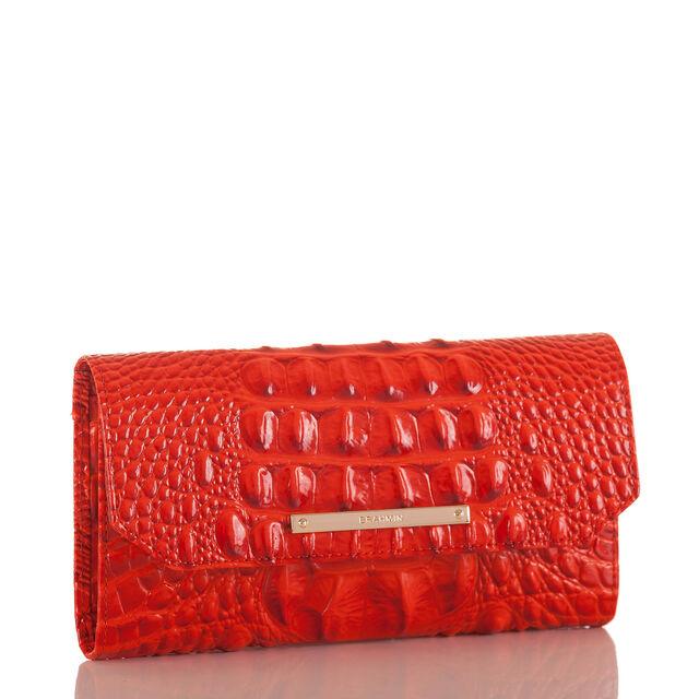 Soft Checkbook Wallet Amaryllis Melbourne, Amaryllis, hi-res