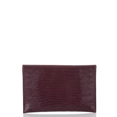 Envelope Clutch Plum Fashion Lizard Back