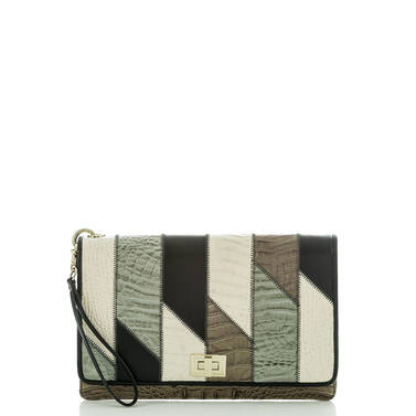 Lily Pouch Silver Sage Caspian Front