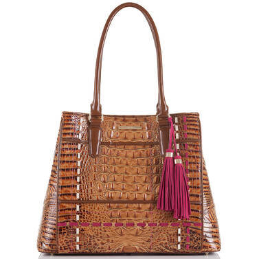 Joan Tote Toasted Almond Hayes Front