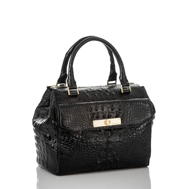 Malia Satchel Black Melbourne