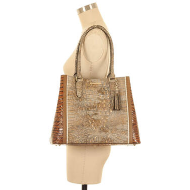 Joan Tote Riesling Tri-Texture On Mannequin