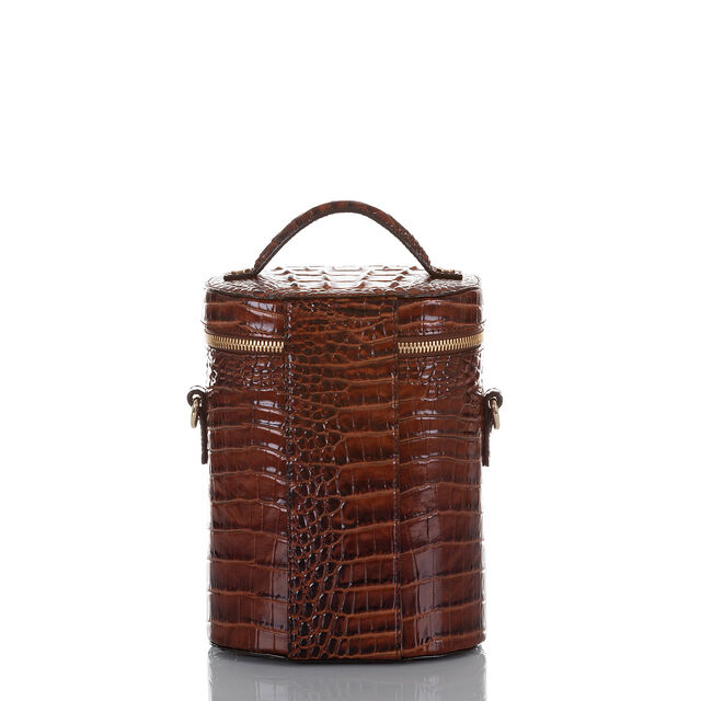 Brynn Barrel Bag Pecan Melbourne, Pecan, hi-res